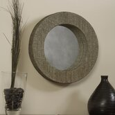 Mendong with Black Thread Round Mirror