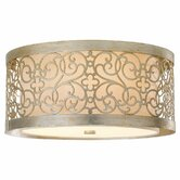 Arabesque 2 Light Flush Mount
