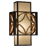 Remy One Light Wall Sconce in Heritage Bronze/Parissiene Gold