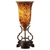 Marisol One Light Table Torchiere in British Bronze
