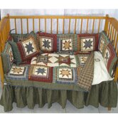 Cottage Star Crib Bedding Collection