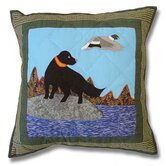 Mallard Dog Toss Pillow