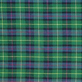 Green Tartan Plaid Bed Skirt / Dust Ruffle