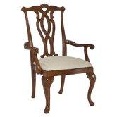 Cherry Grove Pierced Back Arm Chair