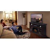 "Bailey 66"" TV Stand with Electric Fireplace"