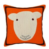 Sheep Pillow in Orange