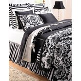 Black Damask Quilt Collection