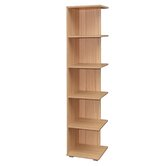 Evolution Designer Bookcase in Core Beech