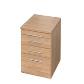 Evolution Desk End 4 Drawers Pedestal in Core Beech