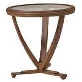 Vienna Round End Table