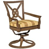 Vienna Lounge Chair with Seat and Back Cushions