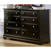 Cottage Double 6 Drawer Dresser