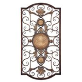 Micayla Large Wall Art in Antiqued Gold