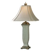 "Reynosa 32"" H Table Lamp with Bell Shade"