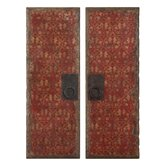 Red Door Panel Wall Art (Set of 2) by Moon, Billy