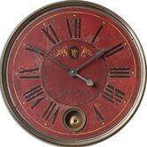 Regency Villa Tesio Weathered Laminated Clock