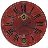 Villa Tesio 30&quot; Laminated Clock