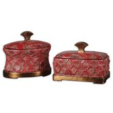 Cela Decortive Boxes (Set of 2)
