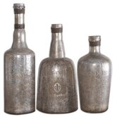 3 Piece Lamaison Decorative Bottle Set