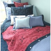 Medallions Blue and Red Bedding Collection