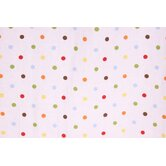 Baby & Me Dots Crib Fitted Sheet