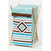 Mod Diamonds and Stripes Hamper