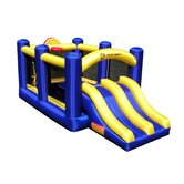 Racing Slide and Slam Bounce House