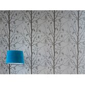 Family Tree Wallsmart Wallpaper in Silver