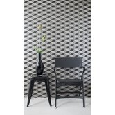 Squares Wallsmart Wallpaper in Black / Bronze