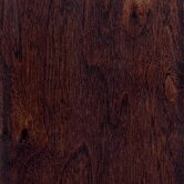 "Hand Scraped 4-3/4"" 5-Ply Tongue & Groove Engineered Walnut in Java"