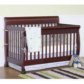 Kalani 4 in 1 Convertible Crib with Toddler Rail
