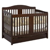 Richmond 4-in-1 Convertible Crib with Toddler Rail in Espresso