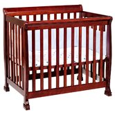 Kalani Mini Convertible Crib in Cherry
