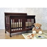 Porter 4-in-1 Convertible Crib Set with Toddler Bed Conversion Kit