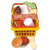 Pretend and Play Dinner Foods Basket