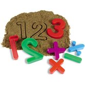 Numbers & Operations Sand Molds