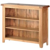 Sandown Small Bookcase in Rustic Oak