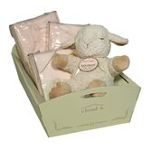 Holiday 'Baby' Gift Cradle in Pink