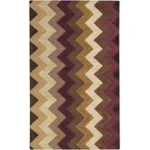 Mosaic Chocolate/Plum Rug