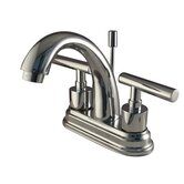 Concord Centerset Bathroom Faucet with Double Metal Lever Handles