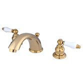 Magellan Widespread Bathroom Faucet with Double Porcelain Lever Handles