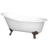 21.375&quot; Bath Tub in White
