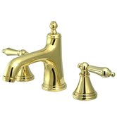 Heritage Widespread Bathroom Faucet with Double Lever Handles
