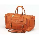 "Millionaire's 24"" Leather Carry-On Duffel"