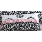 Amore Ruffled Lumbar Pillow