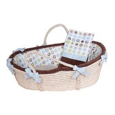 Bubbles Moses Basket Set
