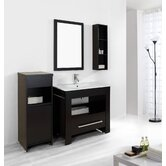 "Masselin Single 36"" Bathroom Vanity Set in Espresso"