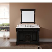 "Huntshire 48"" Single Sink Bathroom Vanity in Dark Walnut"