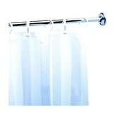 Standard Hotel Shower Curtain Rail in Chrome