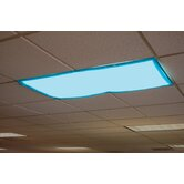 Classroom Light Filters - Tranquil Blue - Set of 4